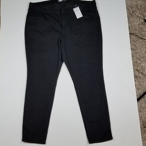 Old Navy New Black Super skinny Jeans Plus Size 20